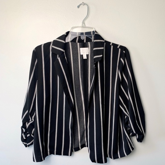 Nordstrom Jackets & Blazers - 14th & Union Black and White Blazer